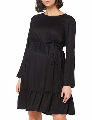Mama Licious Mamalicious Women's MLESSEY L/S Woven Short Dress