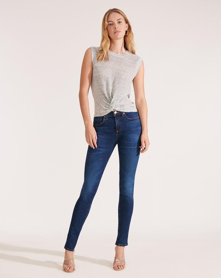 Veronica Beard Brooke Mid-Rise Skinny Jean