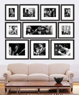 The Well Appointed House Rock and Roll Archive Collection of Black and White Framed Prints-FREE SHIPPING!