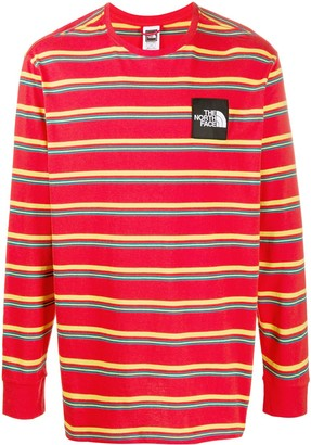 The North Face Long Sleeve Striped Print Top