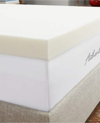 """Authentic Comfort 4"""" Breathable Memory Foam Twin Xl Mattress Topper"""