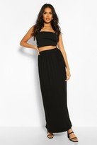 Long Black Skirt With Pockets - ShopStyle