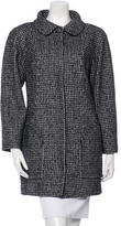 Chanel Tweed Wool-Blend Coat