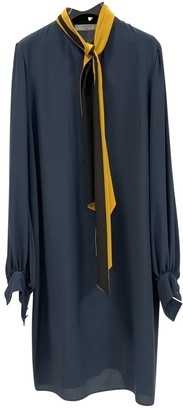 Lanvin Blue Silk Dress for Women