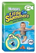 Huggies Little Swimmers Size 3-4 12 per pack - Pack of 4
