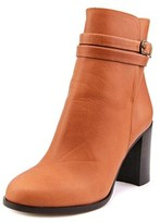 Emma Lou Vitello Round Toe Leather Ankle Boot.