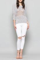 Fate Crop Chenille Sweater