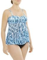 Christina Women's Maternity Fly-Away Bandeau Swim Top