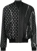 Haider Ackermann polka-dot bomber jacket