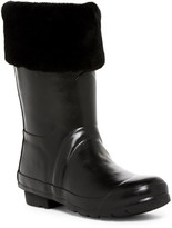 Australia Luxe Collective Dukes Genuine Shearling Rain Boot