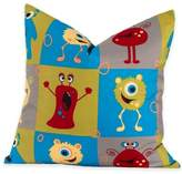 Crayola Monster Friends European Pillow Sham in Blue