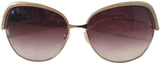 Oliver Peoples Purple Metal Sunglasses