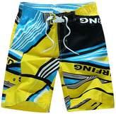 Soficy Men's Boardshort Beach Shorts Swim Trunks Casual Shorts L