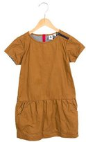 Petit Bateau Girls' Drop Waist Short Sleeve Dress