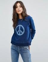 YMC Peace Indigo Sweat