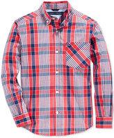 Tommy Hilfiger Everrett Plaid Shirt, Big Boys (8-20)