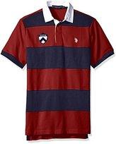 U.S. Polo Assn. Men's Short Sleeve Rugby Stripe Shirt