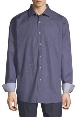 Paul & Shark Patterned Cotton Shirt