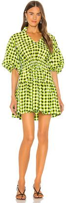 S/W/F SWF Gingham Mini Dress