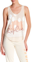 Rip Curl Travel Life Front Graphic Print Tank