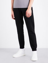 Armani Jeans Script cotton-jersey jogging bottoms