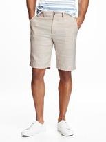 "Old Navy Ultimate Linen Shorts for Men (10"")"