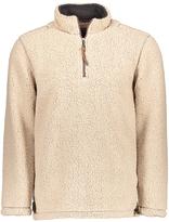True Grit Sand Sueded Sherpa Half-Zip Pullover