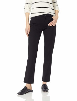 Chaps Women's Straight BI Stretch Twill Cropped-Pant