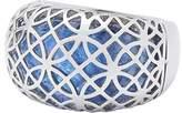 Leonardo Women ring Arioso stainless steel glass blue size 60 (19.1) - 016240