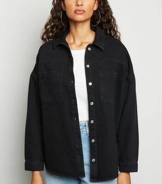 New Look Denim Boxy Shirt