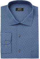 Alfani Men's Classic/Regular Fit Performance Print Dress Shirt, Created for Macy's