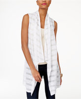 INC International Concepts Illusion-Stripe Vest, Only at Macy's