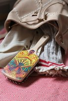 Hand Painted Wooden Brush by Gypsy Pea Magoo at Free People