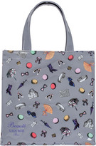 LADUREE Grey Small Accessories Shopping Bag - Small