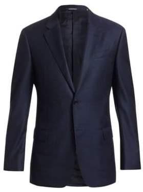 Emporio Armani Solid Wool G Line Blazer