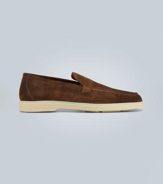 Santoni Suede loafers