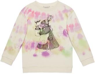 Gucci Children's Yuko Higuchi print cotton sweatshirt