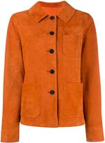 Drome fitted jacket - women - Suede - M
