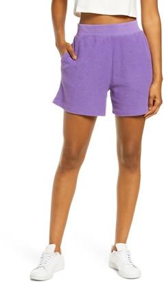 Melody Ehsani Terry Cloth Shorts