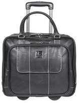 Kenneth Cole Double Compartment 16-Inch Wheeled Carry On in Black