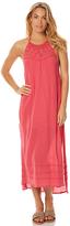 Billabong Midsummer Tides Womens Maxi Dress Red