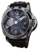 Panerai Luminor GMT Rubber Strap Automatic Ocean Chronometer 43mm Mens Watch