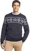 Izod Men's Regular-Fit Fairisle Crewneck Sweater