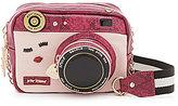 Betsey Johnson Close Up Camera Cross-Body Bag