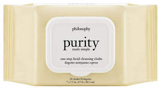 philosophy Unisex Set Of 30 Purity Made Simple One Step Facial Cleansing Cloths