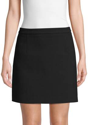 Michael Kors Fleece Wool Mini Skirt