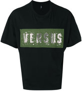Versus logo print T-shirt - men - Cotton - XS