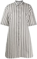 Acne Studios striped shirt dress