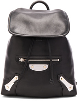 Balenciaga Metal Plate Traveler Backpack