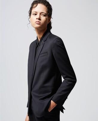The Kooples Formal black jacket in wool